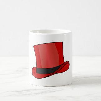 Red Top Hat Coffee Mug