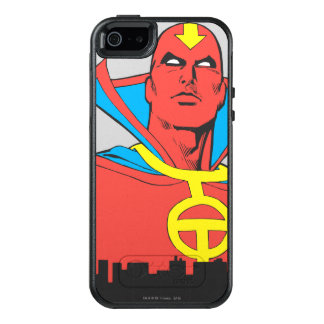 Red Tornado Behind Cityscape OtterBox iPhone 5/5s/SE Case