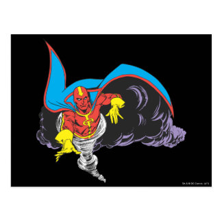 Red Tornado Emerges Postcard