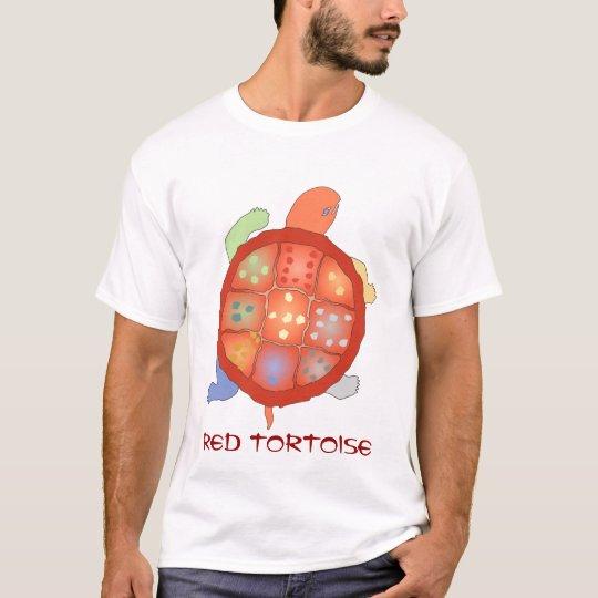 Red Tortoise Tee Shirt