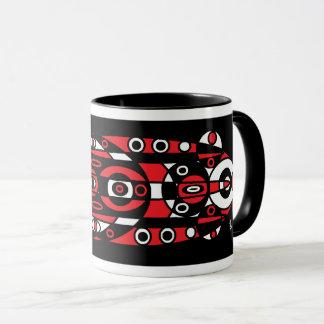 red totem mug