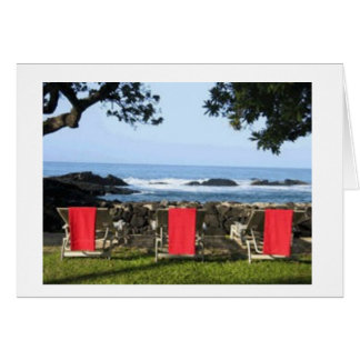 Red Towels Card