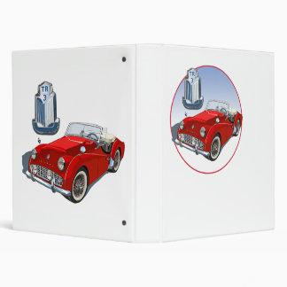 Red TR3 Vinyl Binder