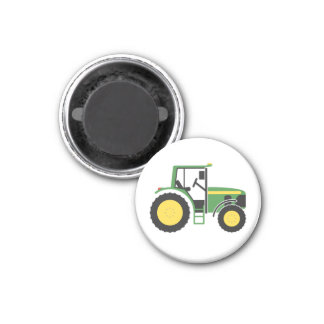 Red Tractor Magnet