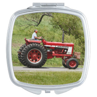 Red Tractor Mirror For Makeup