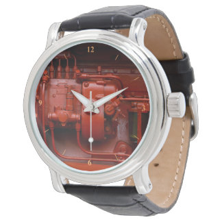 Red Tractor Motor Watch