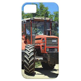 Red Tractor on El Camino, Spain iPhone 5 Covers