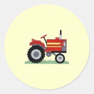 Red Tractor Sticker