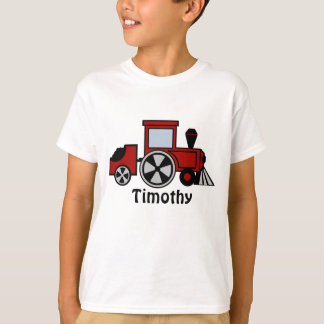 Red Train Engine T-Shirt