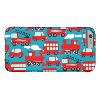 Red transport barely there iPhone 6 case