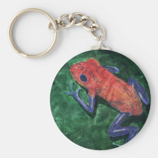 Red Tree Frog keychain