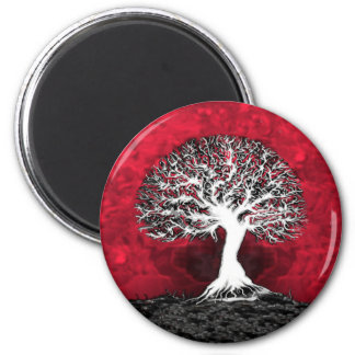 Red Tree of Life Magnet
