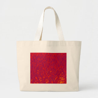 red trees large tote bag