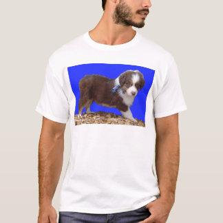 Red Tri Aussie Puppy T-Shirt