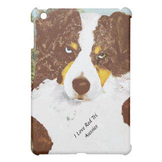 Red Tri Australian Shepherd Case For The iPad Mini