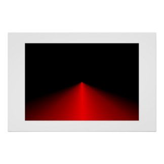 Red Triangle Poster