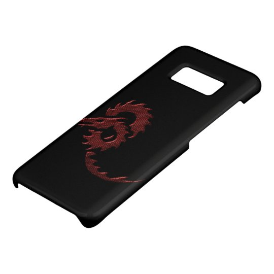 Red Tribal Dragon Case-Mate Samsung Galaxy S8 Case
