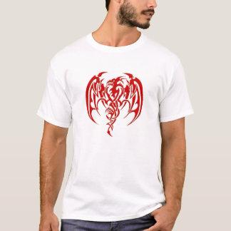 Red tribal dragon T-Shirt
