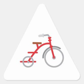 Red Trike Triangle Sticker