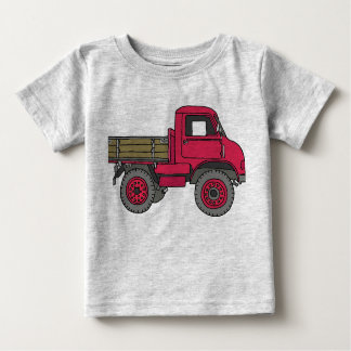 Red truck baby T-Shirt