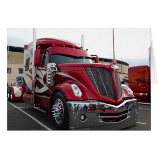 Red Truck Card