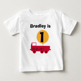 Red Truck Customizable Birthday Tshirts