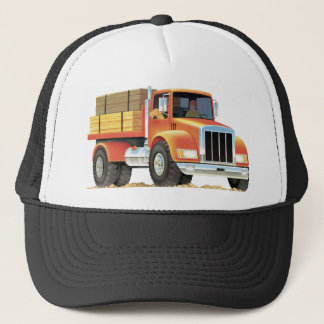 Red Truck Trucker Hat