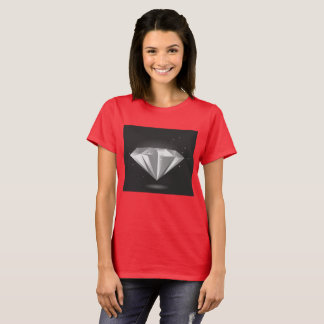 RED tshirt with diamond