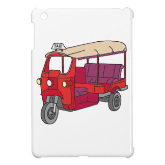 Red Tuktuk Case For The iPad Mini