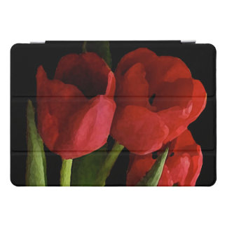 Red Tulip Flowers Floral 10.5 iPad Pro Case