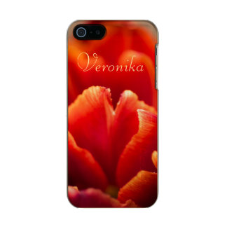 Red tulip incipio feather® shine iPhone 5 case