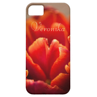 Red tulip iPhone 5 case