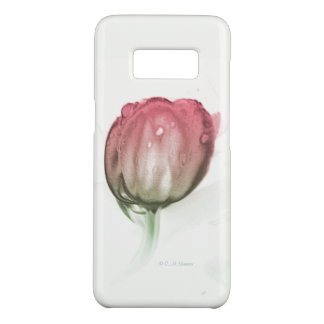 Red tulip phone case