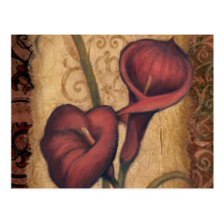 Red Tulips II Postcards