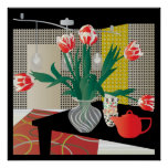 Red Tulips Print