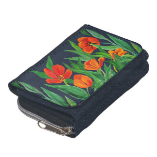 Red Tulips Wallets