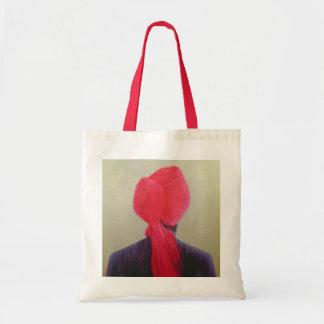 Red Turban Purple Jacket Tote Bag