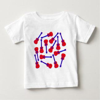 Red Ukulele Baby T-Shirt