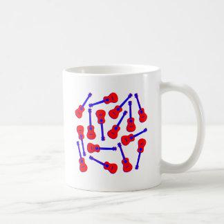 Red Ukulele Coffee Mug