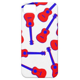 Red Ukulele iPhone 5 Covers