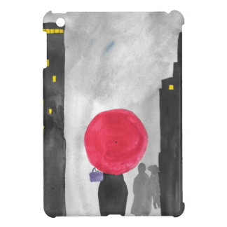 Red Umbrella Case For The iPad Mini