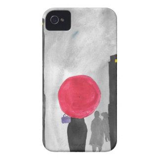 Red Umbrella iPhone 4 Cases