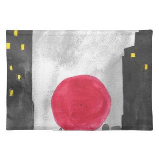 Red Umbrella Placemat
