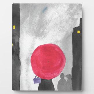 Red Umbrella Plaque