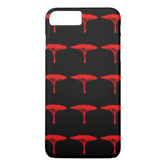 Red Umbrella Tree iPhone 8 Plus/7 Plus Case