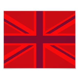 Red Union Jack Photo