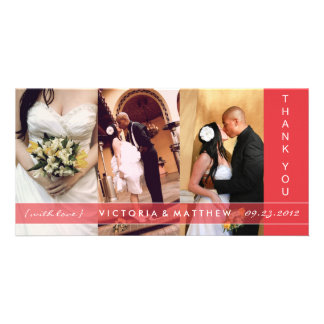 RED UNION | WEDDING THANK YOU CARD PHOTO CARDS