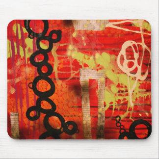 Red Urban Mousepad