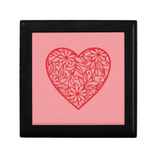 Red Valentine's Heart Gift Box