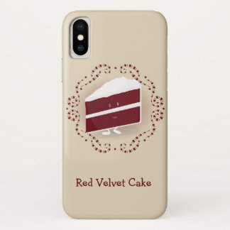 Red Velvet Cake | iPhone X Case